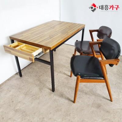 MDF 4인 테이블 세트