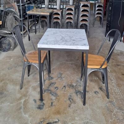 구름 테이블 2인 테이블 세트