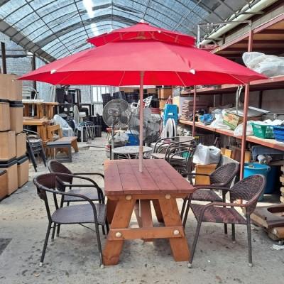 야외용 테이블 세트(750*1200)